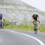 14 July 2017; Gabriel Mendez of Hincapie Development team in action during Stage 4 of the Scott Junior Tour 2017 at the Wild Atlantic Way, Co Clare. Photo by Stephen McMahon/Sportsfile *** NO REPRODUCTION FEE ***