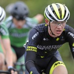 14 July 2017; Conor Schunk of Hincapie Development team in action during Stage 4 of the Scott Junior Tour 2017 at the Wild Atlantic Way, Co Clare. Photo by Stephen McMahon/Sportsfile *** NO REPRODUCTION FEE ***