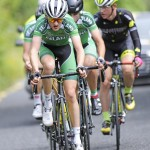 14 July 2017; Ethan Downey of Ireland National Team in action during Stage 4 of the Scott Junior Tour 2017 at the Wild Atlantic Way, Co Clare. Photo by Stephen McMahon/Sportsfile *** NO REPRODUCTION FEE ***