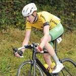 15 July 2017; Race leader Ben Walsh of Ireland National Team in action during Stage 5 of the Scott Junior Tour 2017 at Gallows Hill, Co Clare. Photo by Stephen McMahon/Sportsfile *** NO REPRODUCTION FEE ***