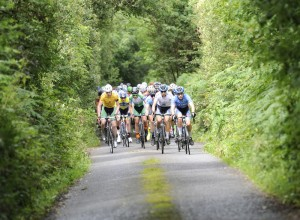 15 July 2017; A general view of the action during Stage 5 of the Scott Junior Tour 2017 at Gallows Hill, Co Clare. Photo by Stephen McMahon/Sportsfile *** NO REPRODUCTION FEE ***