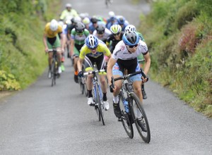 15 July 2017; Gaelen Kilburn of Hot Tubes in action during Stage 5 of the Scott Junior Tour 2017 at Gallows Hill, Co Clare. Photo by Stephen McMahon/Sportsfile *** NO REPRODUCTION FEE ***