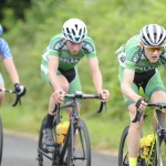 15 July 2017; Ethan Downey of Ireland National Team in action during Stage 5 of the Scott Junior Tour 2017 at Gallows Hill, Co Clare. Photo by Stephen McMahon/Sportsfile *** NO REPRODUCTION FEE ***